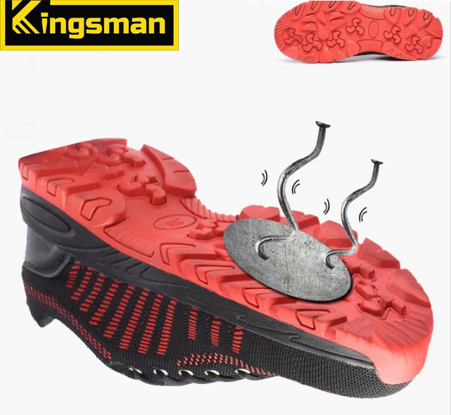 Giày bảo hộ Kingsman Runner ( Đỏ ) | Mũi thép