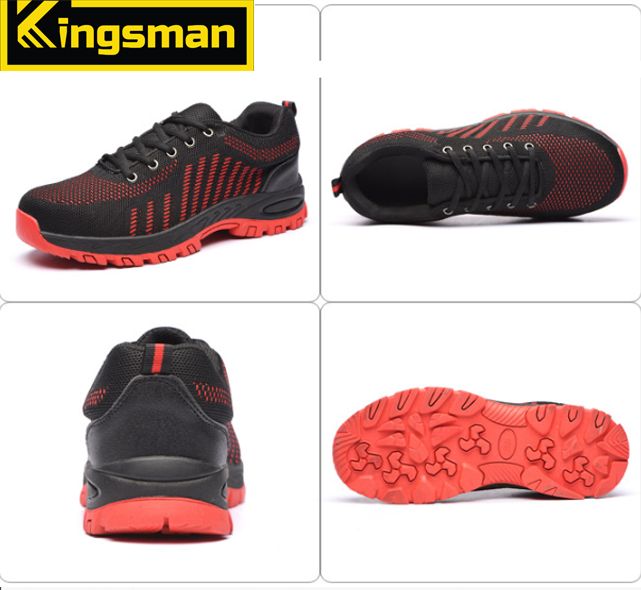 Giày bảo hộ Kingsman Runner ( Đỏ ) | 4 Mặt