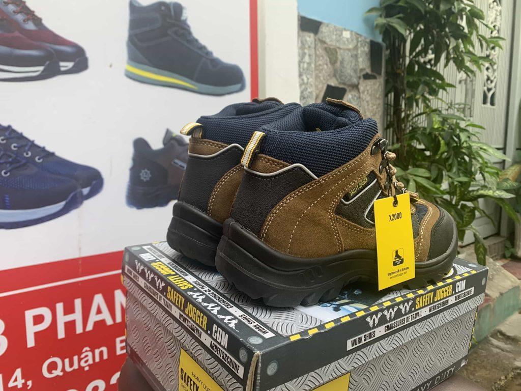Giày bảo hộ lao động Jogger X2000 | Tag giày