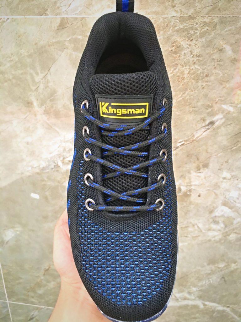 Giày bảo hộ Kingsman Runner ( Xanh ) | Vải mesh