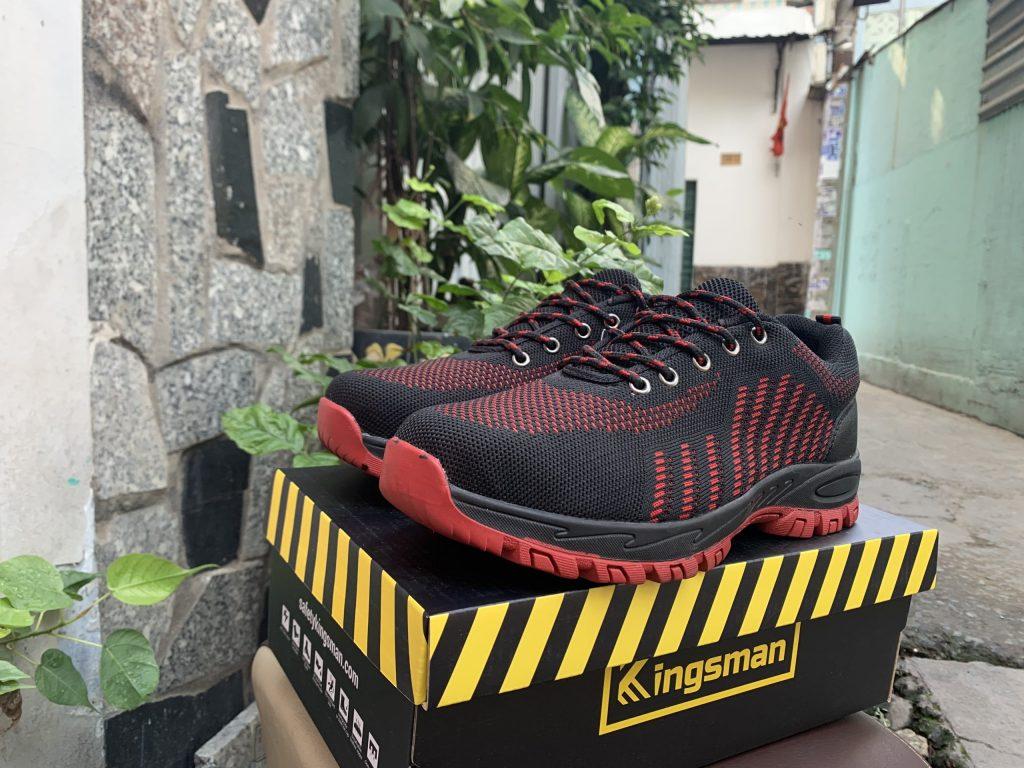 Giày bảo hộ Kingsman Runner ( Đỏ ) thể thao