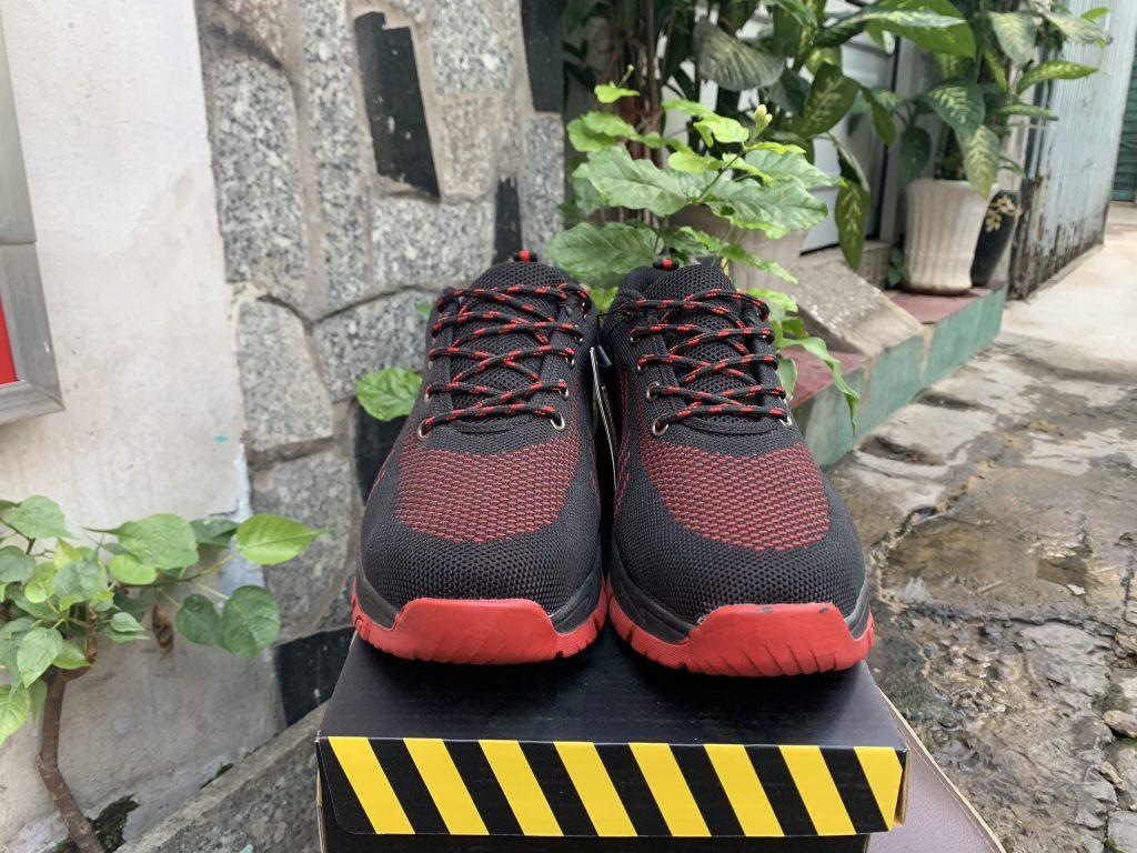 Giày bảo hộ Kingsman Runner ( Đỏ ) | Mặt trước