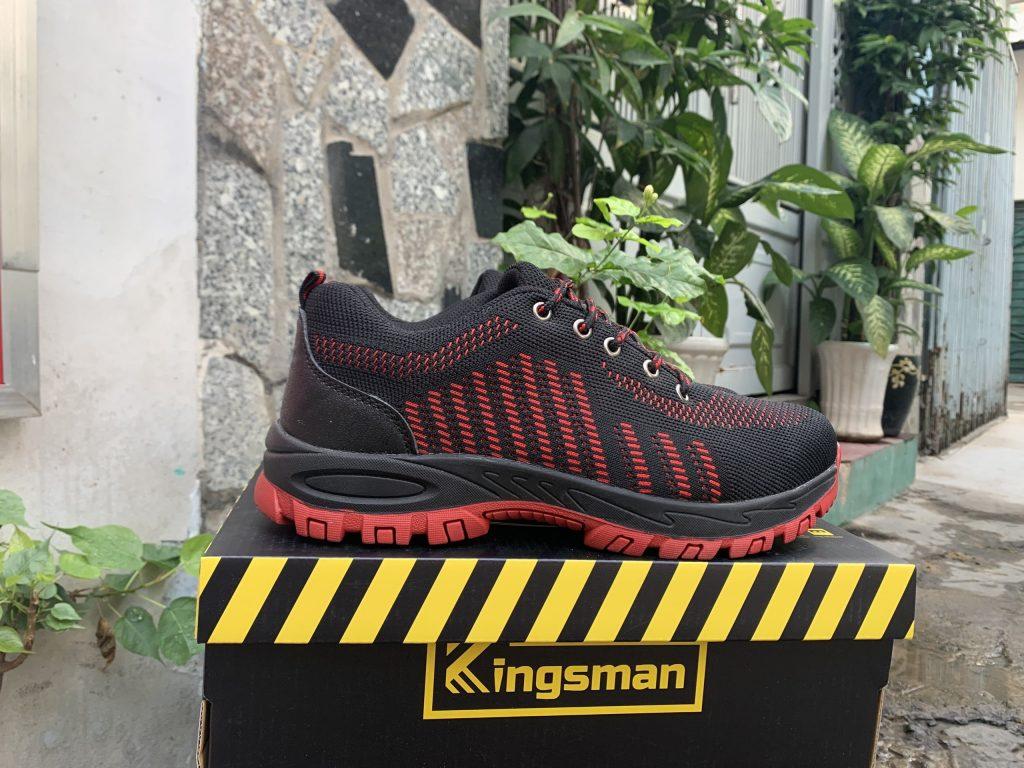 Giày bảo hộ Kingsman Runner ( Đỏ ) | Mặt bên