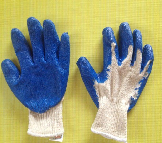 Găng tay sợi phủ sơn loại 1