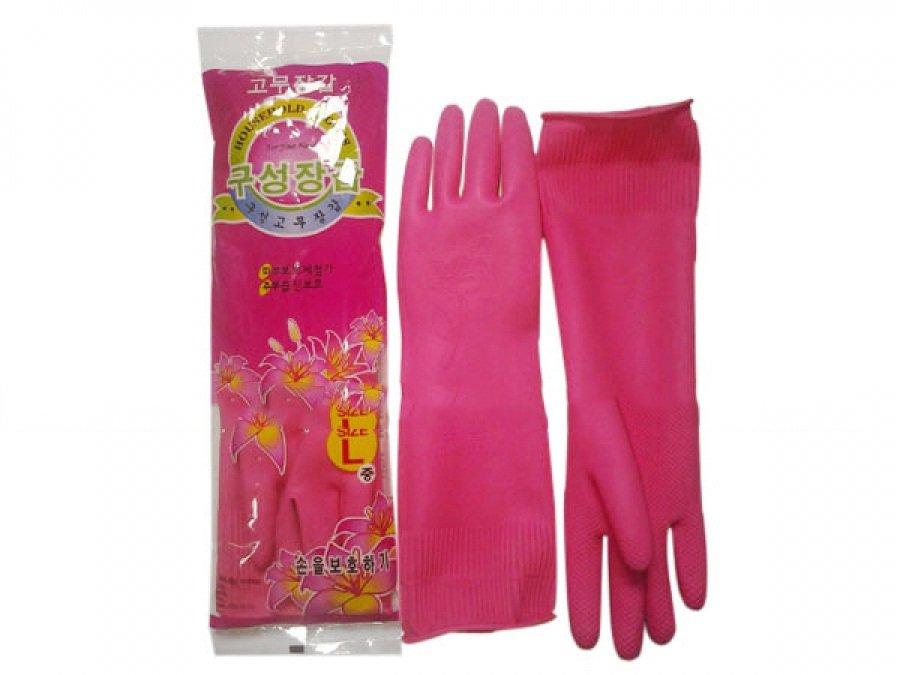 Găng tay Cao su Cầu Vồng | Màu hồng