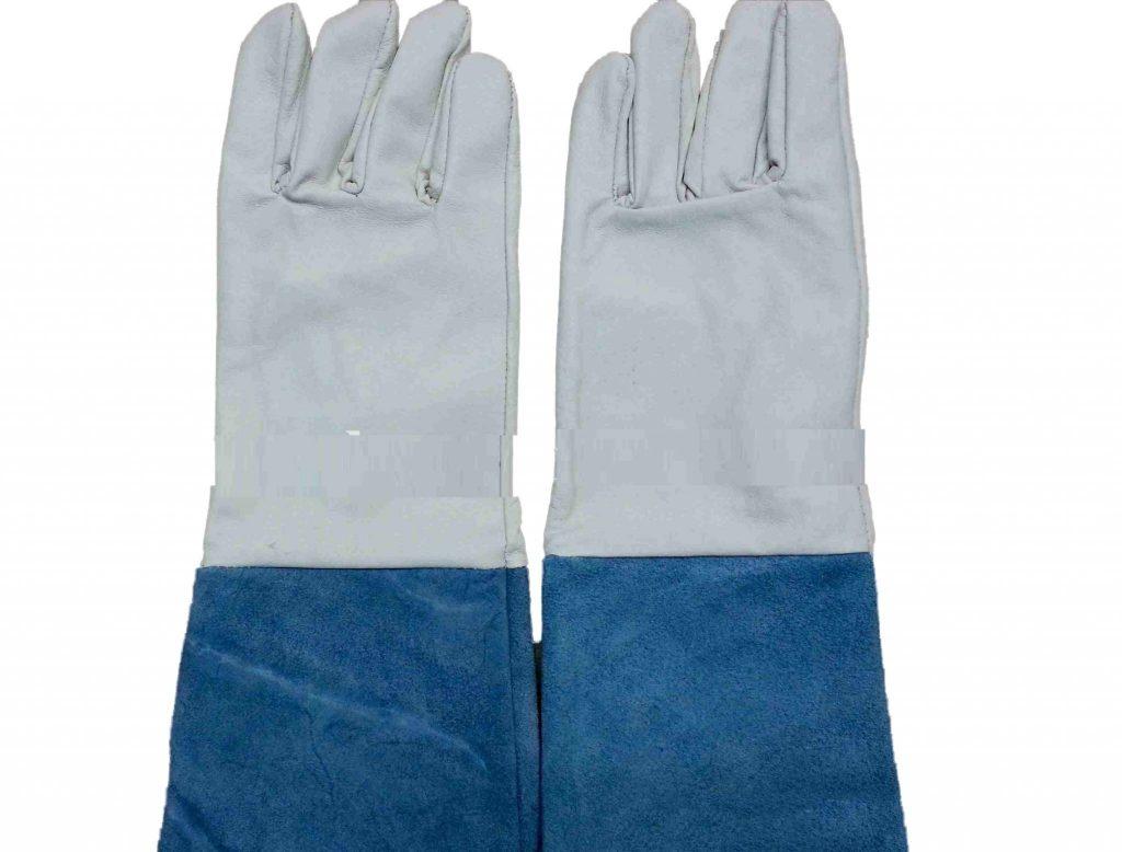 Găng tay da hàn dài Việt Nam