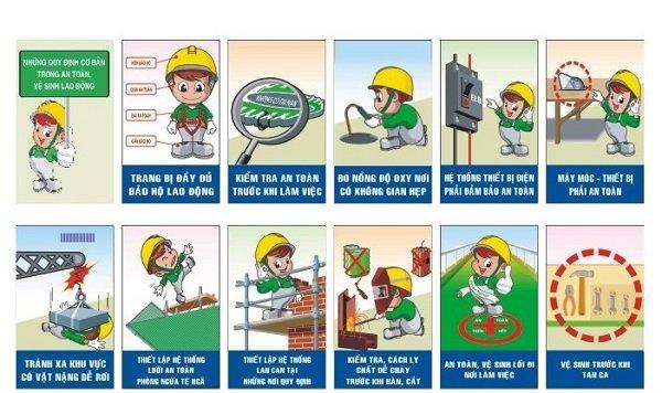 Bảng nội quy công trường xây dựng