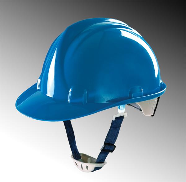 Mũ Bảo Hộ Lao Động Thùy Dương không núm vặn | Màu xanh