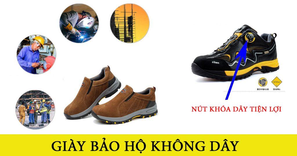 giày bảo hộ không dây