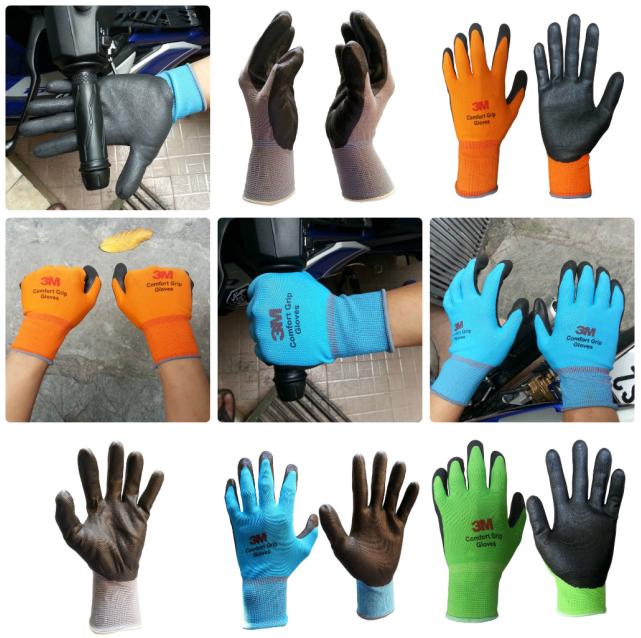 găng tay bảo hộ trong lao động cao su