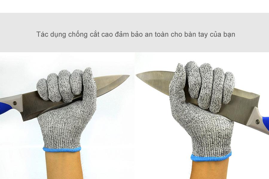 Găng tay chống cắt