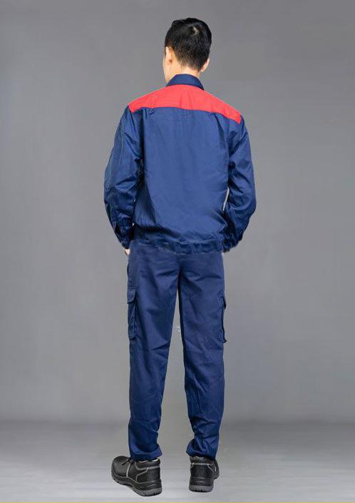 Quần áo bảo hộ lao động NT 11 | Mặt lưng