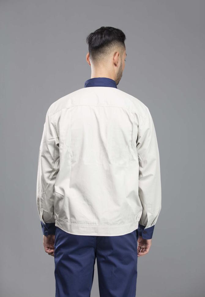 Quần áo vải pangrim Hàn Quốc NT 03 | Mặt lưng