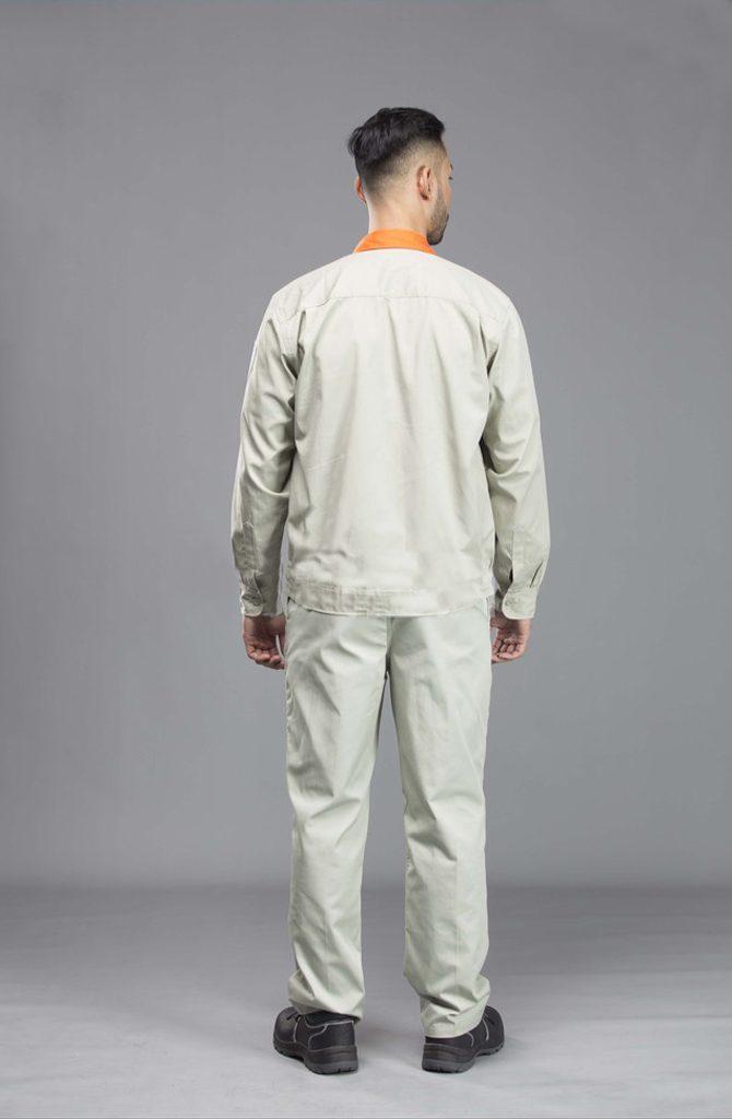 Quần áo vải pangrim Hàn Quốc NT 04 | Mặt lưng