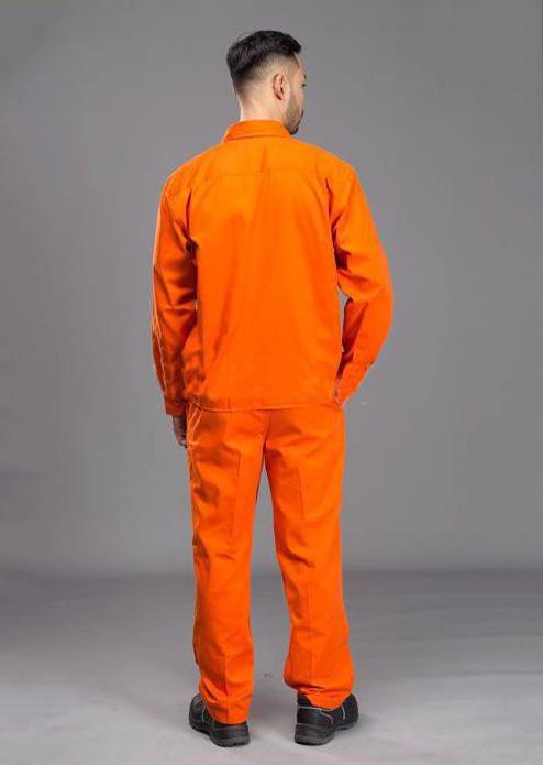 Quần áo công nhân điện lực | Mặt lưng