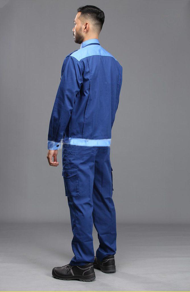 Quần áo bảo hộ NT 06 | Mặt sau