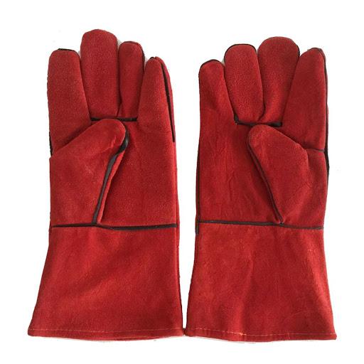 găng tay bảo hộ trong lao động da hàn