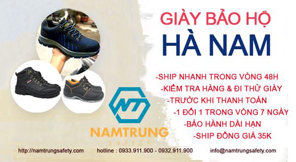 giày bảo hộ Hà Nam