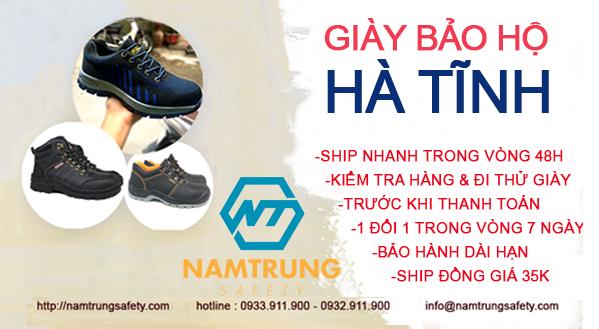 giày bảo hộ tại Hà Tĩnh