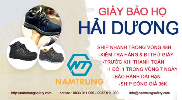 giày bảo hộ chính hãng tại Hải Dương