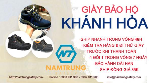 giày bảo hộ Khánh Hòa