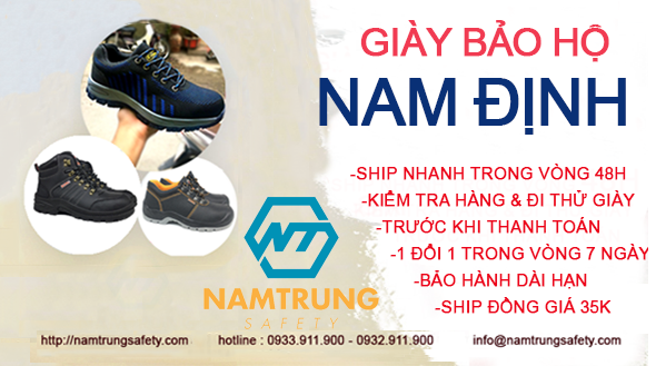 Giày bảo hộ Nam Định