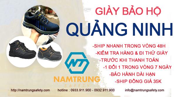 Giày bảo hộ Quảng Ninh