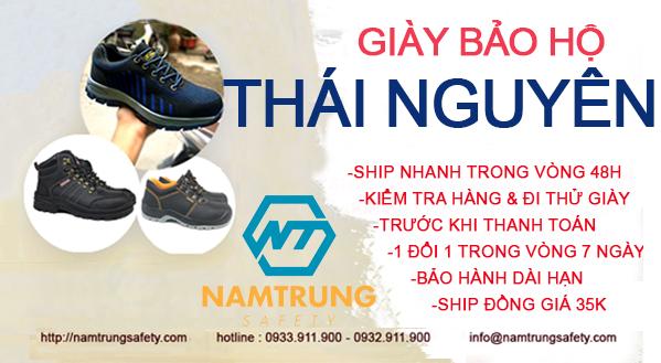 Giày bảo hộ tại Thái Nguyên