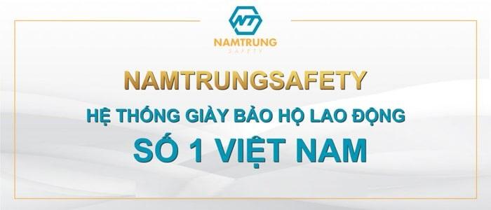 Giày bảo hộ Nam Trung