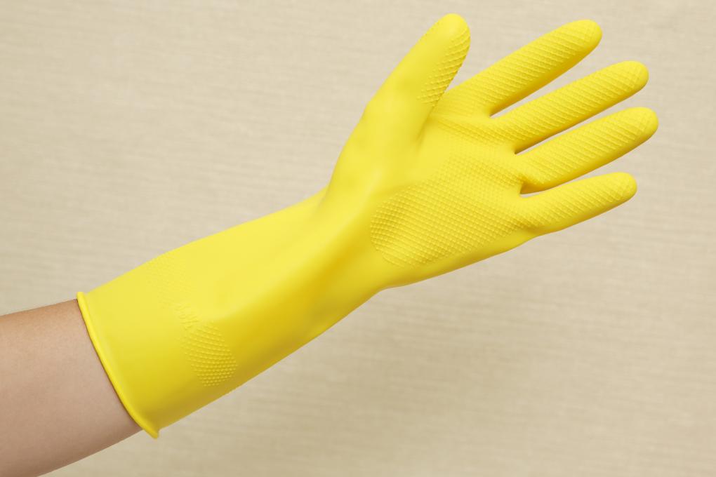 Găng tay cao su bảo hộ