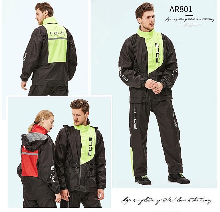 áo mưa bộ đi phượt