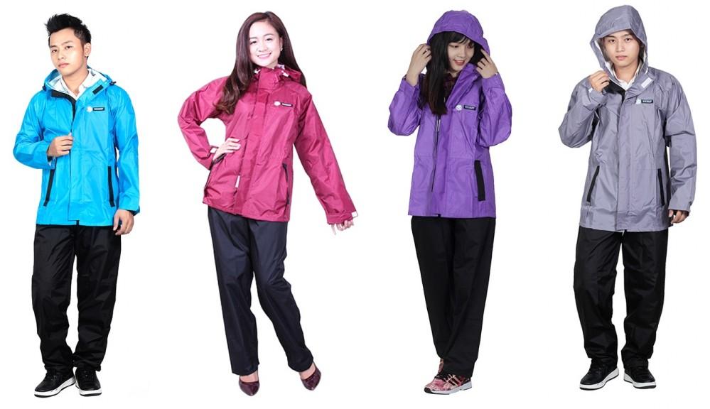 áo mưa bộ thời trang
