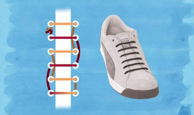 Cách giấu dây giày (4)