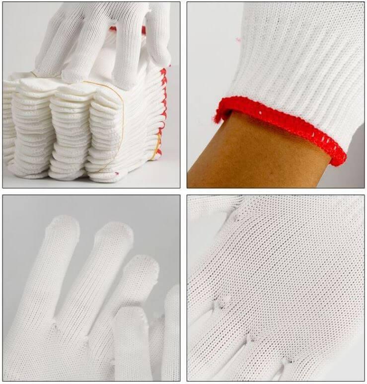 Găng tay sợi poly giá rẻ