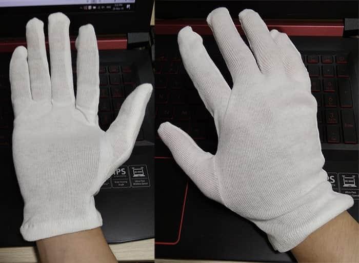 Găng tay vải tráng nhựa