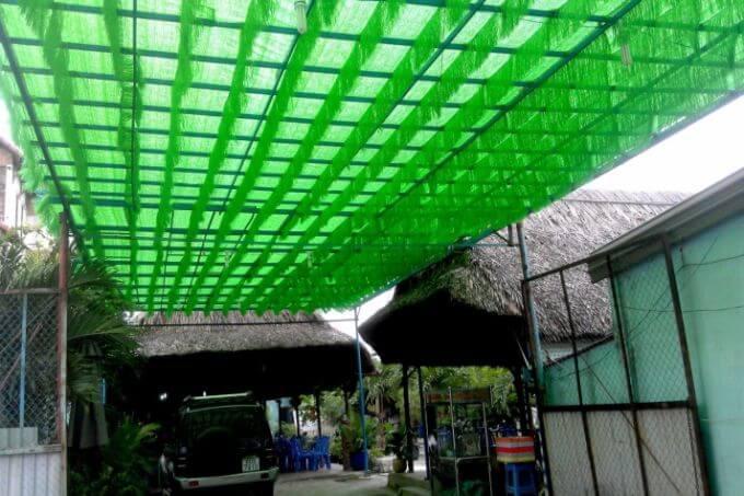 lưới che nắng mái tôn 03