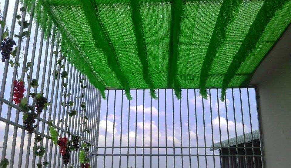 Lưới che nắng sân thượng