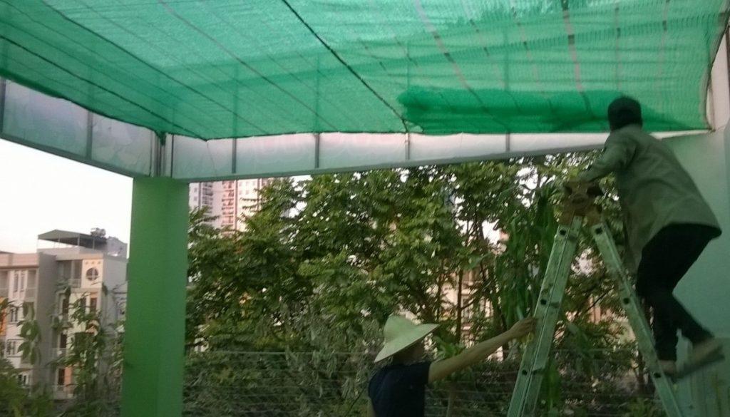 Lưới che nắng ban công 01