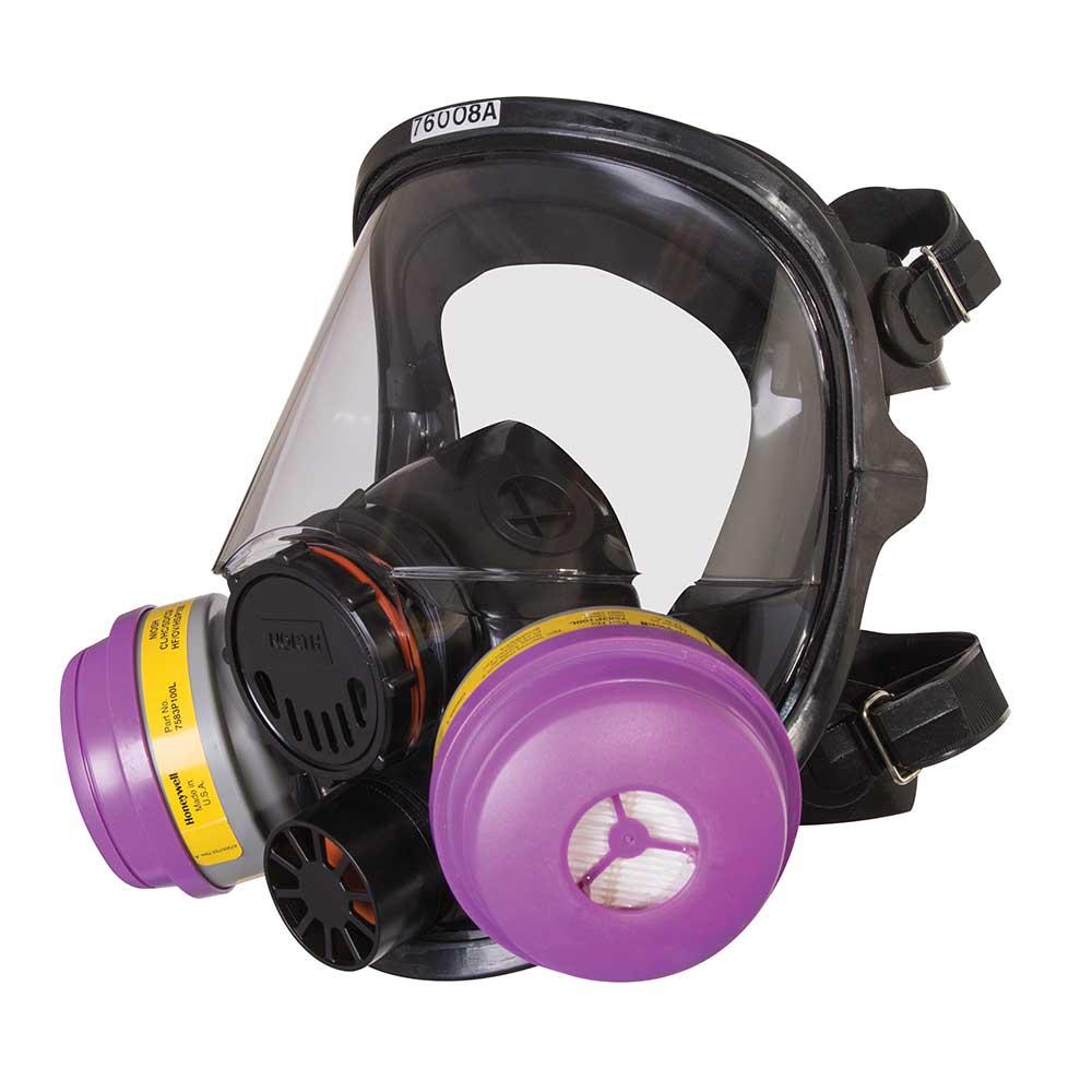 Mặt nạ phòng độc có kính Honeywell RU65001