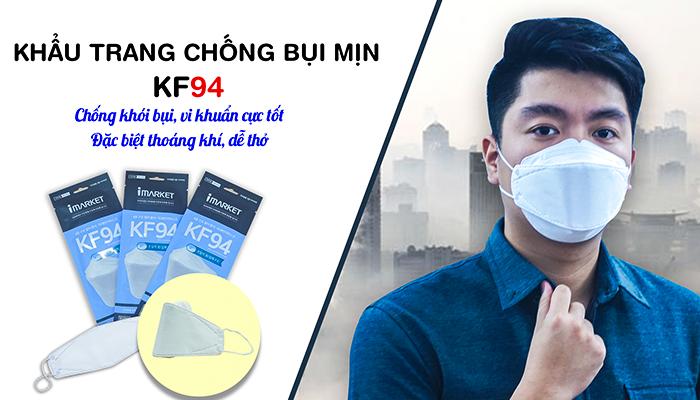 Khẩu trang chống bụi mịn Hàn Quốc KF94