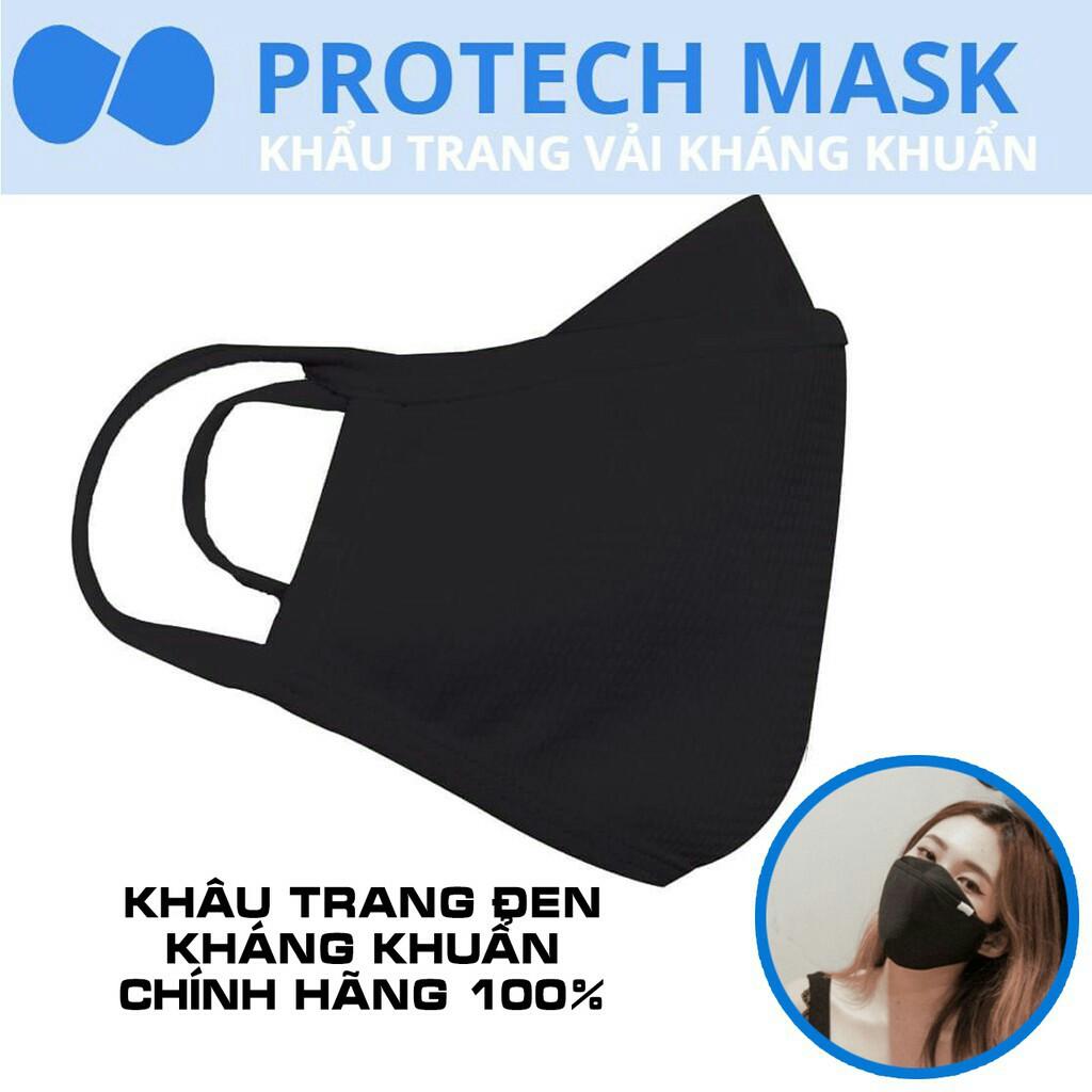 Khẩu trang vải kháng khuẩn 3 lớp Protect Mask