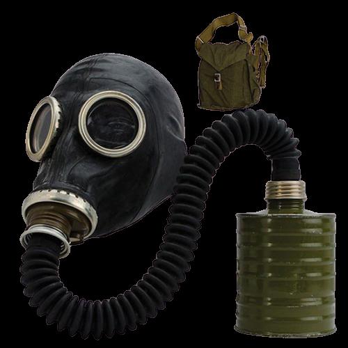 Mặt nạ phòng độc nguyên mặt Nga có vòi K3