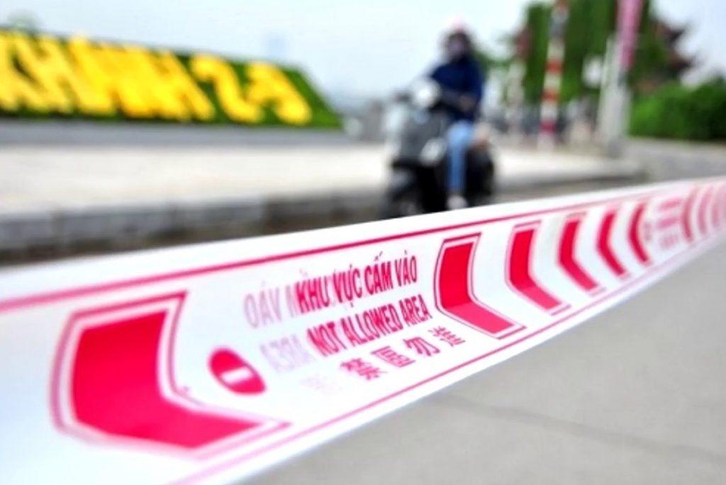 Cuộn băng rào cảnh báo