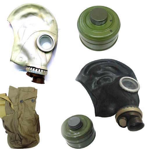 mặt nạ phòng độc Liên Xô