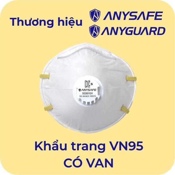 Khẩu trang Anysafe VN95 SG9010V