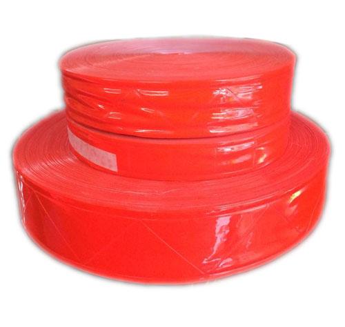 Dây phản quang nhựa bản 5cm màu đỏ