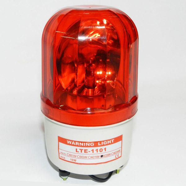 Đèn quay cảnh báo Trung Quốc hình trụ đỏ 220V